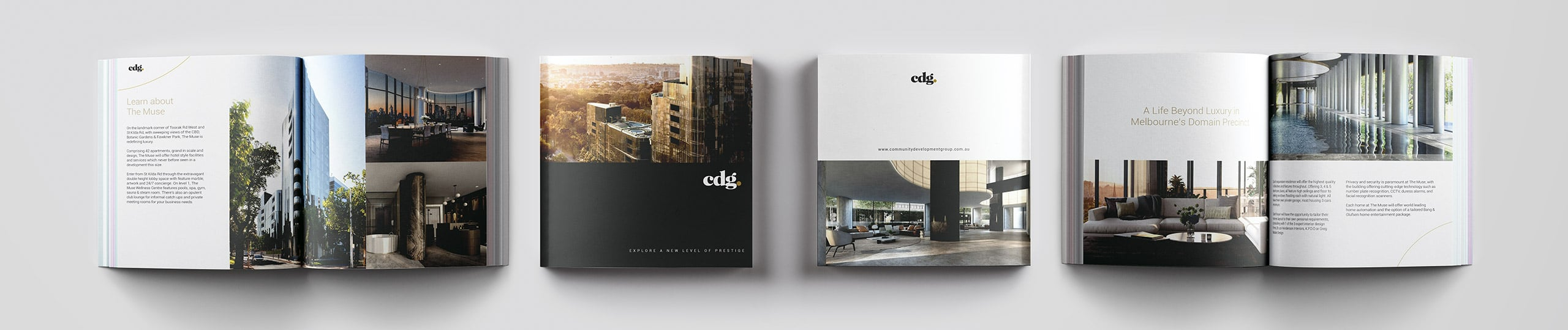 CDG Brochure Design Brand Strategy Marketing Campaign Brand Design