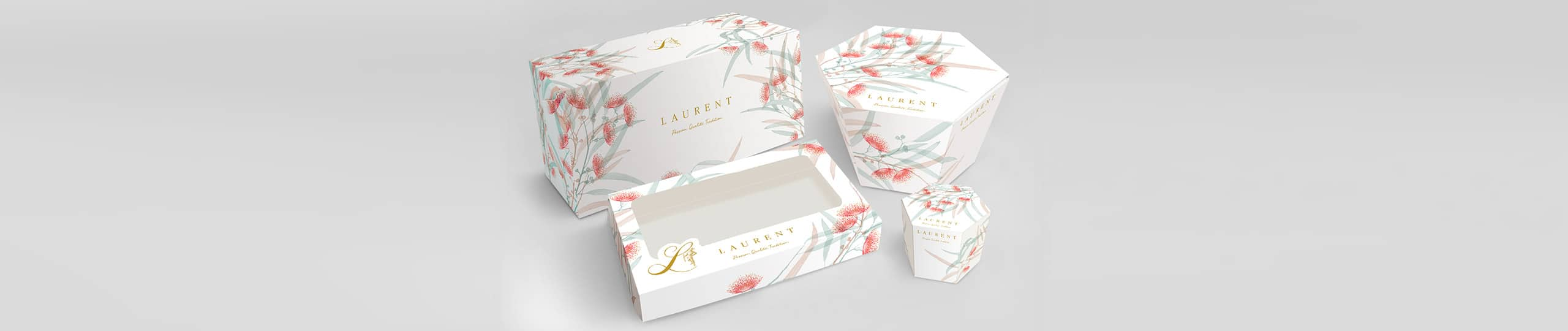 Laurent Christmas Packaging Brand Strategy Marketing Campaign Brand Design