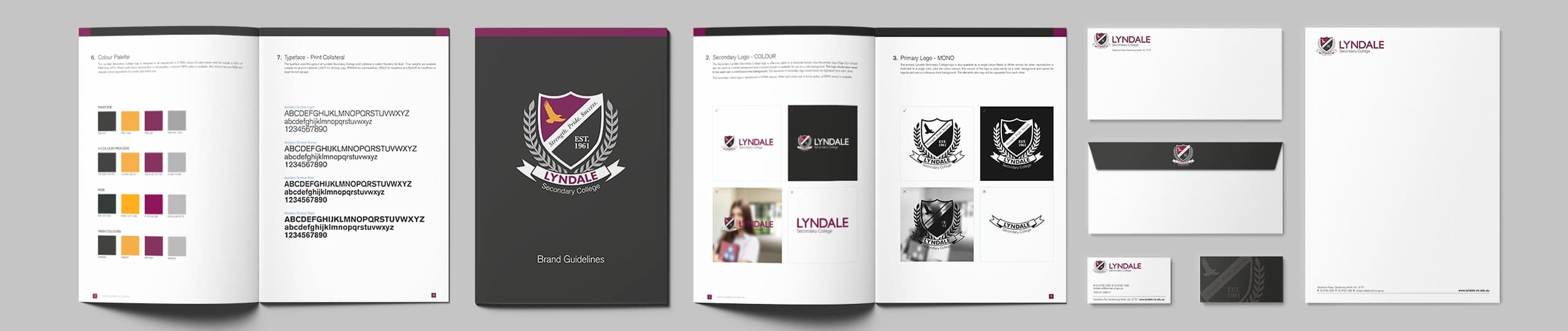 Lyndale Secondary College Brand Guidelines Brand Strategy Marketing Campaign Brand Design