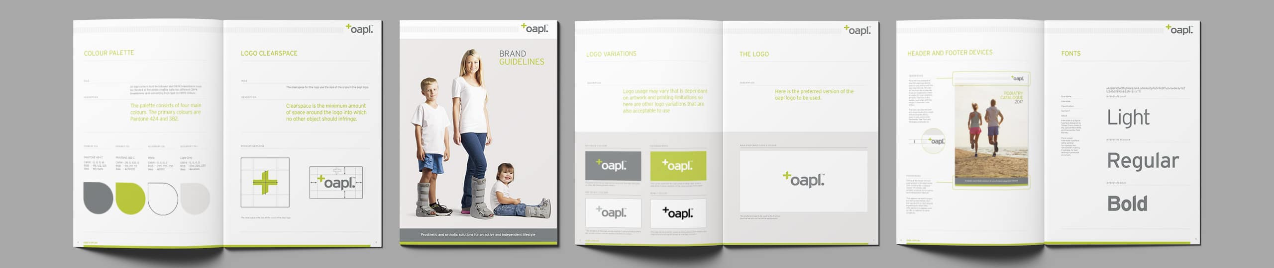 OAPL Brand Guidelines Brand Strategy Marketing Campaign Brand Design