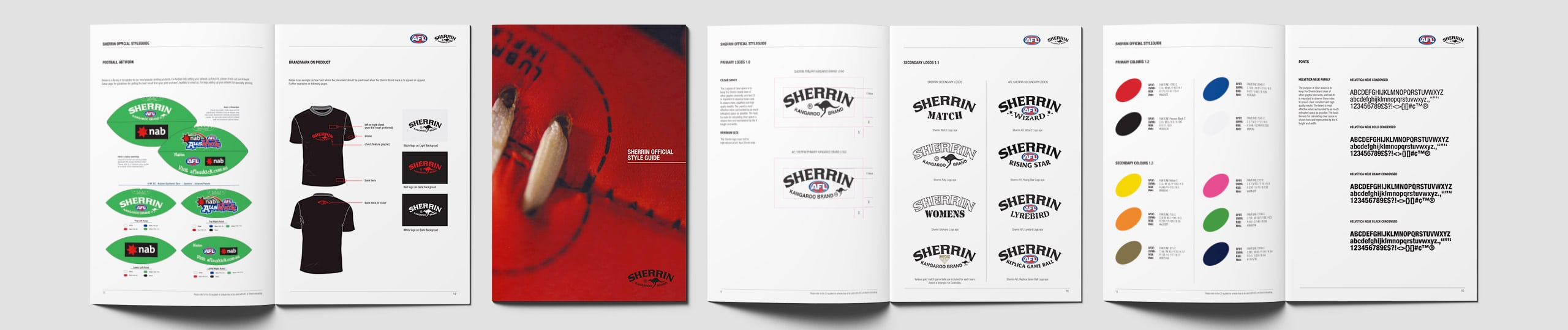 Sherrin Styleguide Brand Strategy Marketing Campaign Brand Design