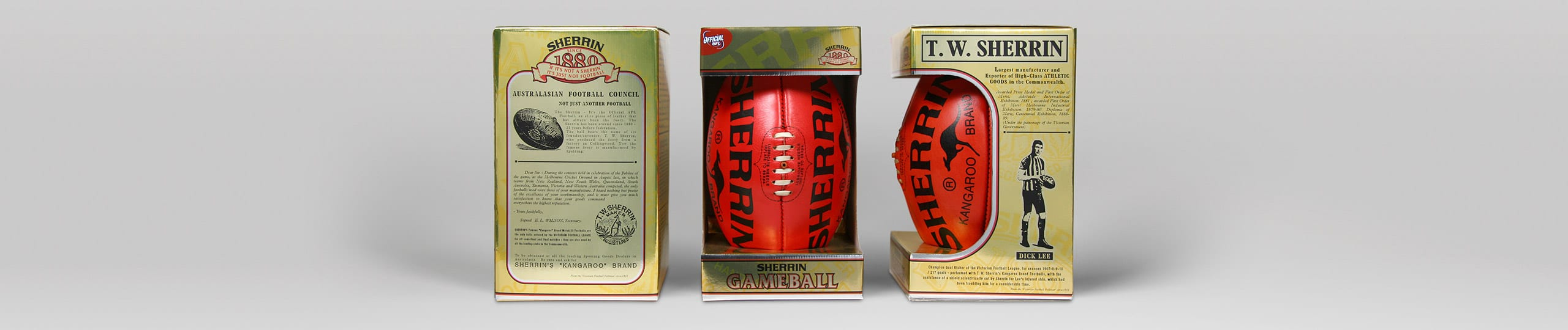Sherrin Packaging Design Brand Strategy Marketing Campaign Brand Design