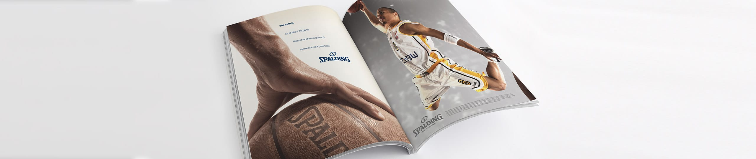 Spalding Advert Concept Brand Strategy Marketing Campaign Brand Design