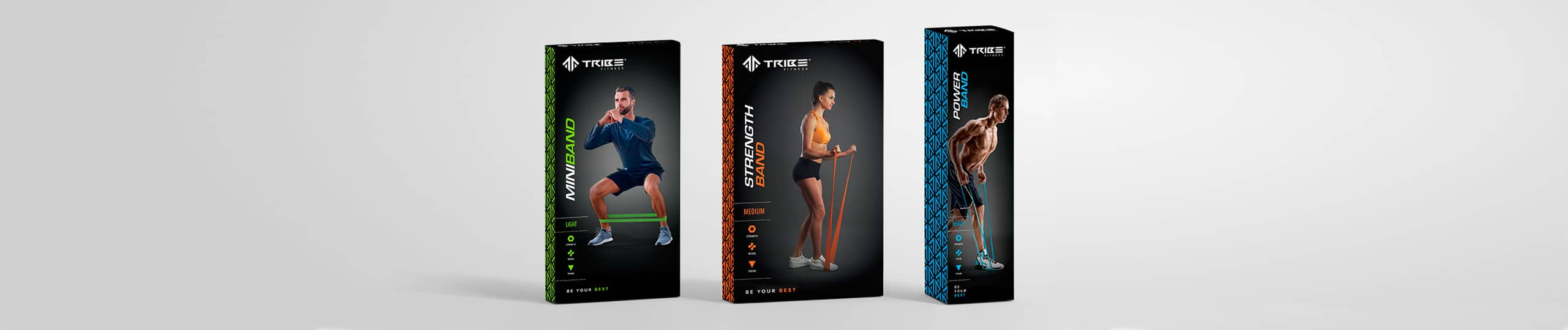 Tribe Fitness Packaging Design Brand Strategy Marketing Campaign Brand Design